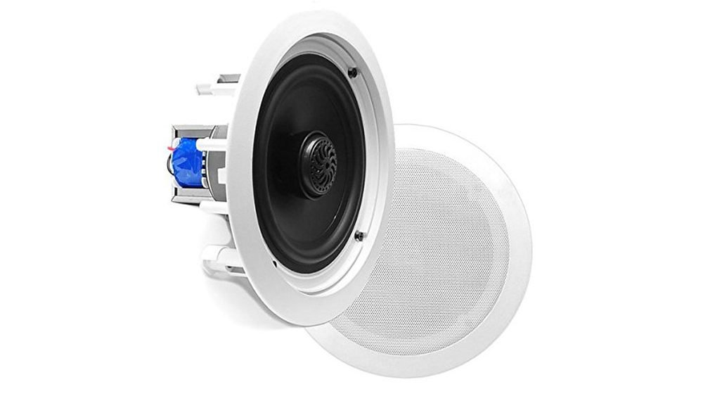 Pyle PDIC60T In-Wall In-Ceiling Dual 6.5-Inch Speaker System