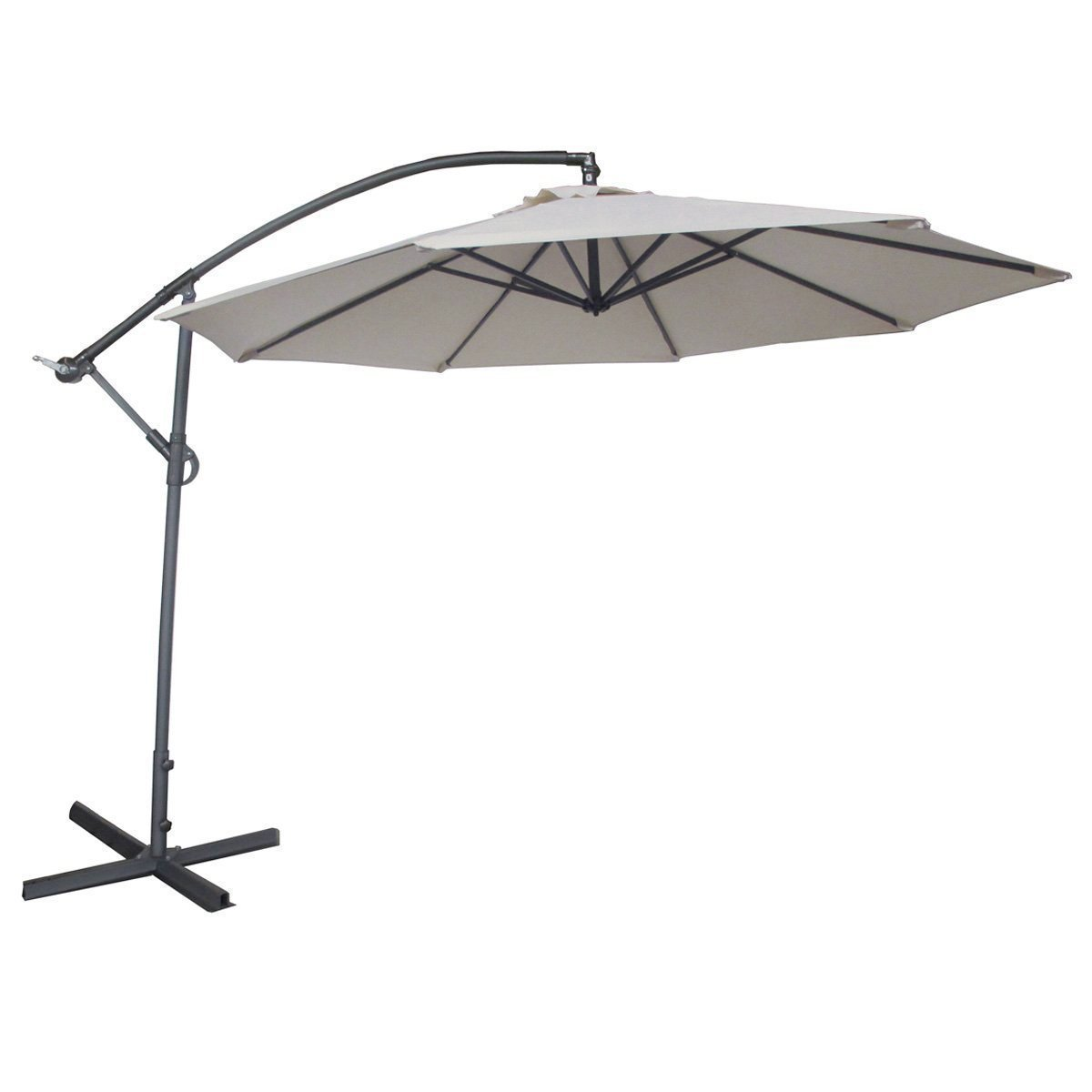 Wonderful Abba Patio 10 Feet Offset Cantilever Umbrella. Best Cantilever Umbrellas