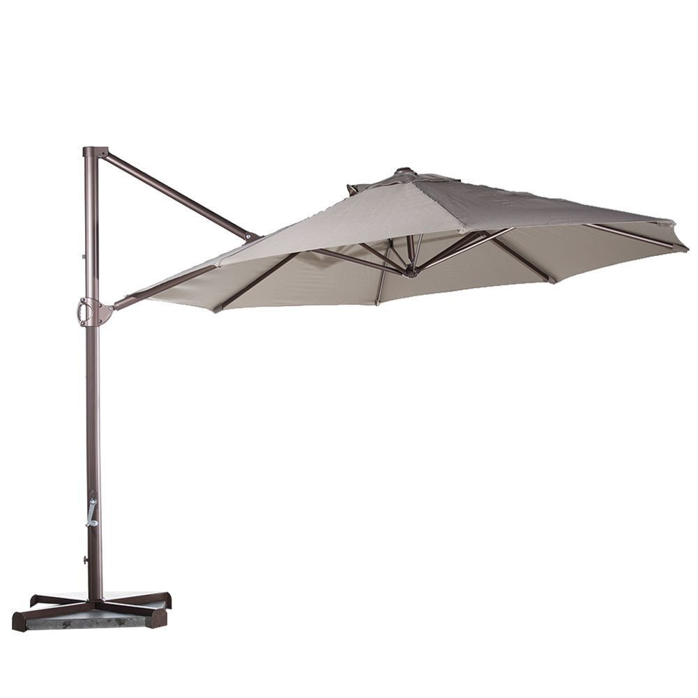 Great Abba Patio 11 Feet Offset Cantilever Umbrella. Best Cantilever Umbrellas