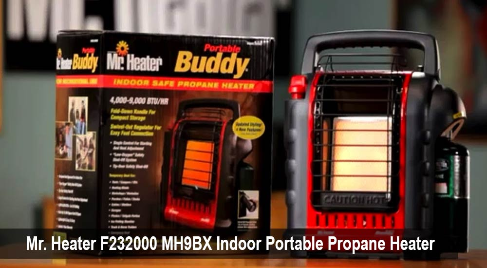 Mr. Heater F232000 MH9BX Indoor Portable Propane Heater