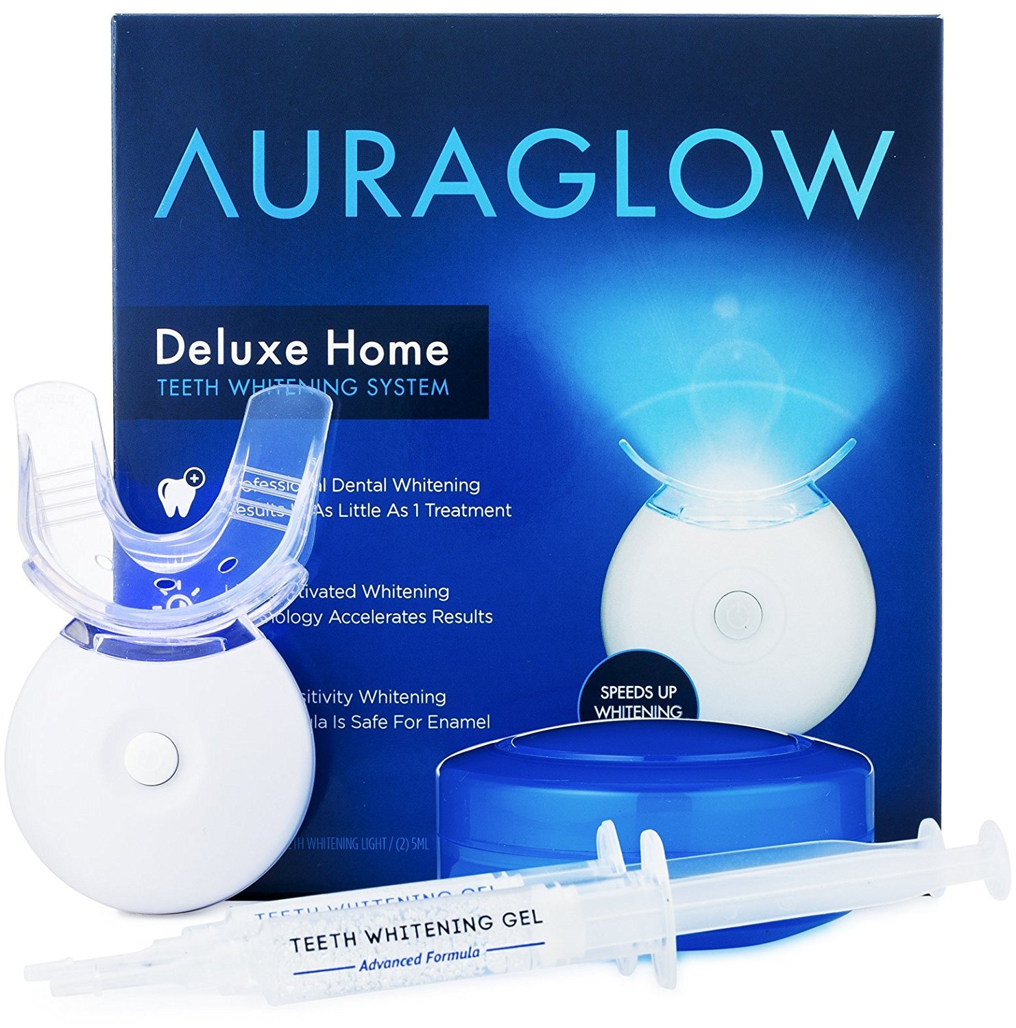 AuraGlow Teeth Whitening Kit