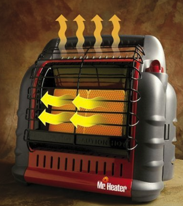 Mr. Heater F274830 MH18B Indoor Propane Heater