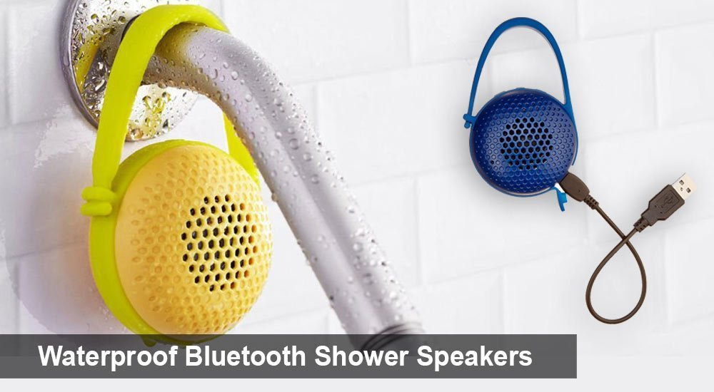 Waterproof Bluetooth Shower Speakers