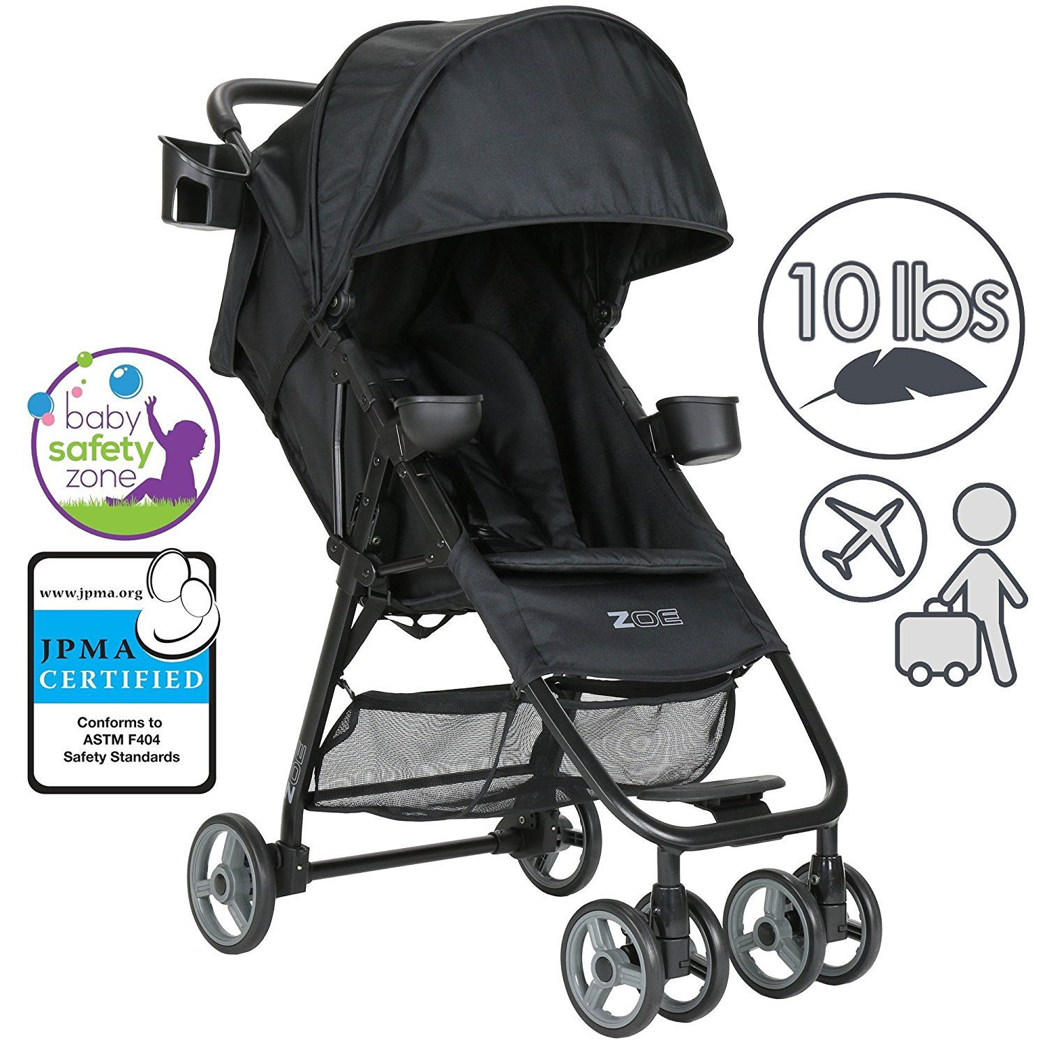reclining stroller umbrella