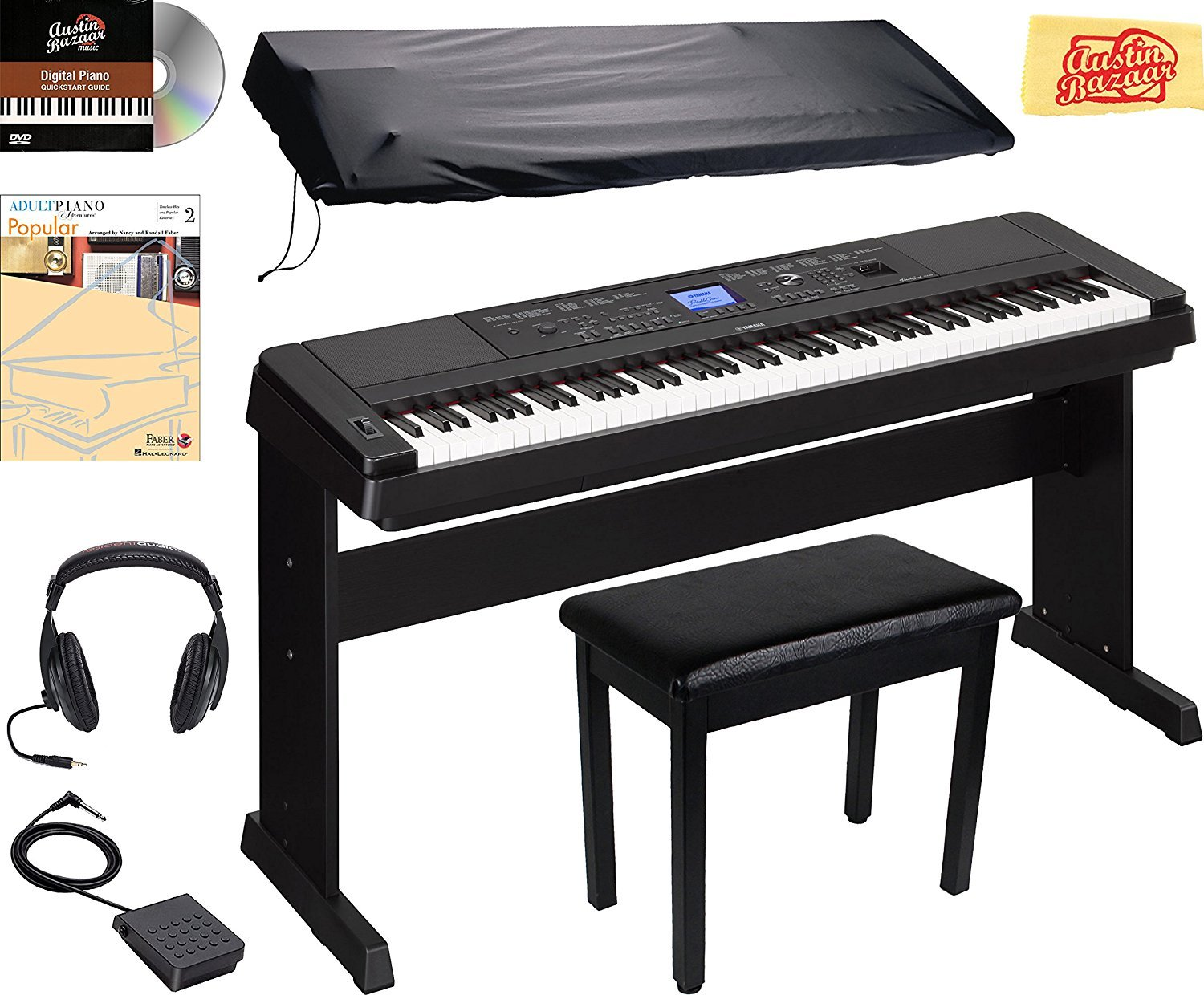 5 best 88 key keyboards for Yamaha piano keyboard models