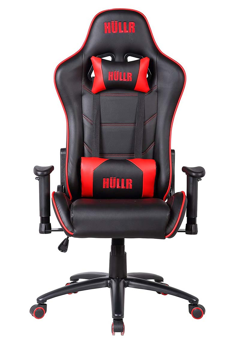 HULLR Gaming and Office Reclining Chair