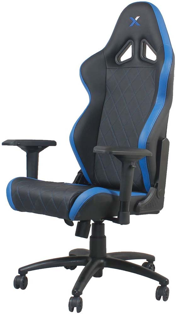 RapidX Ferrino Diamond Patterned Gaming Office Chair