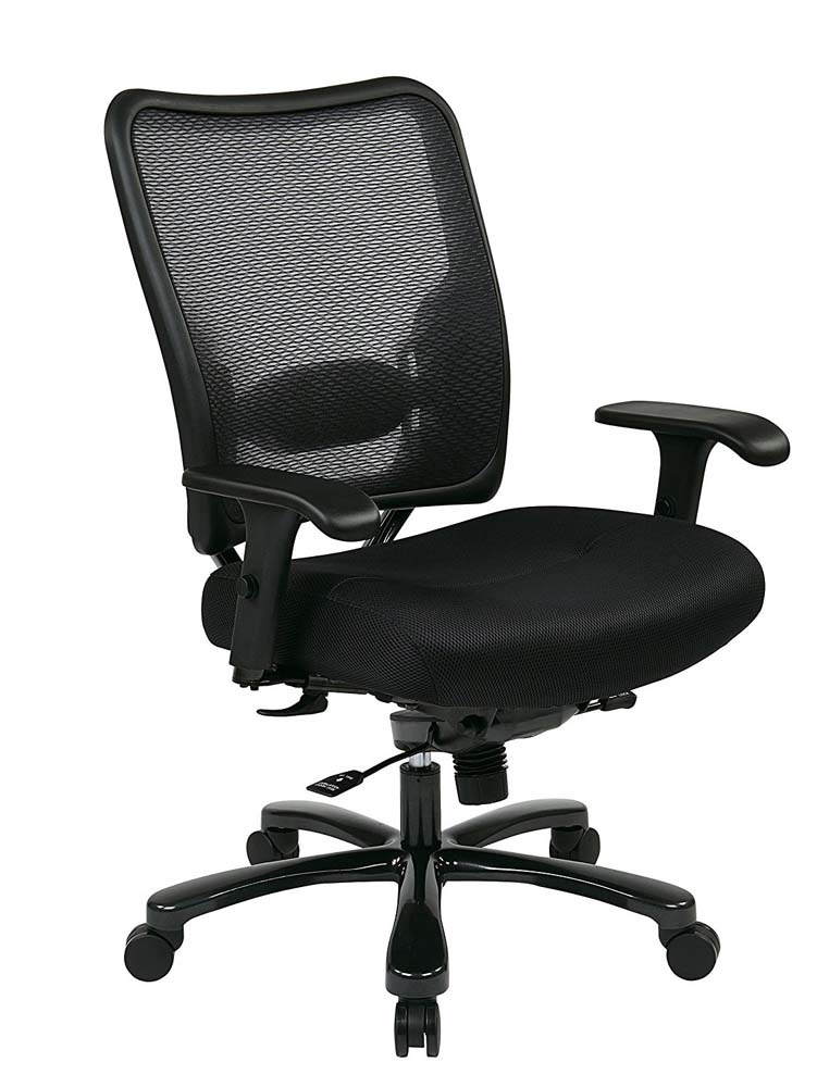 SPACE SEATING Big and Tall Adjustable Office Chair