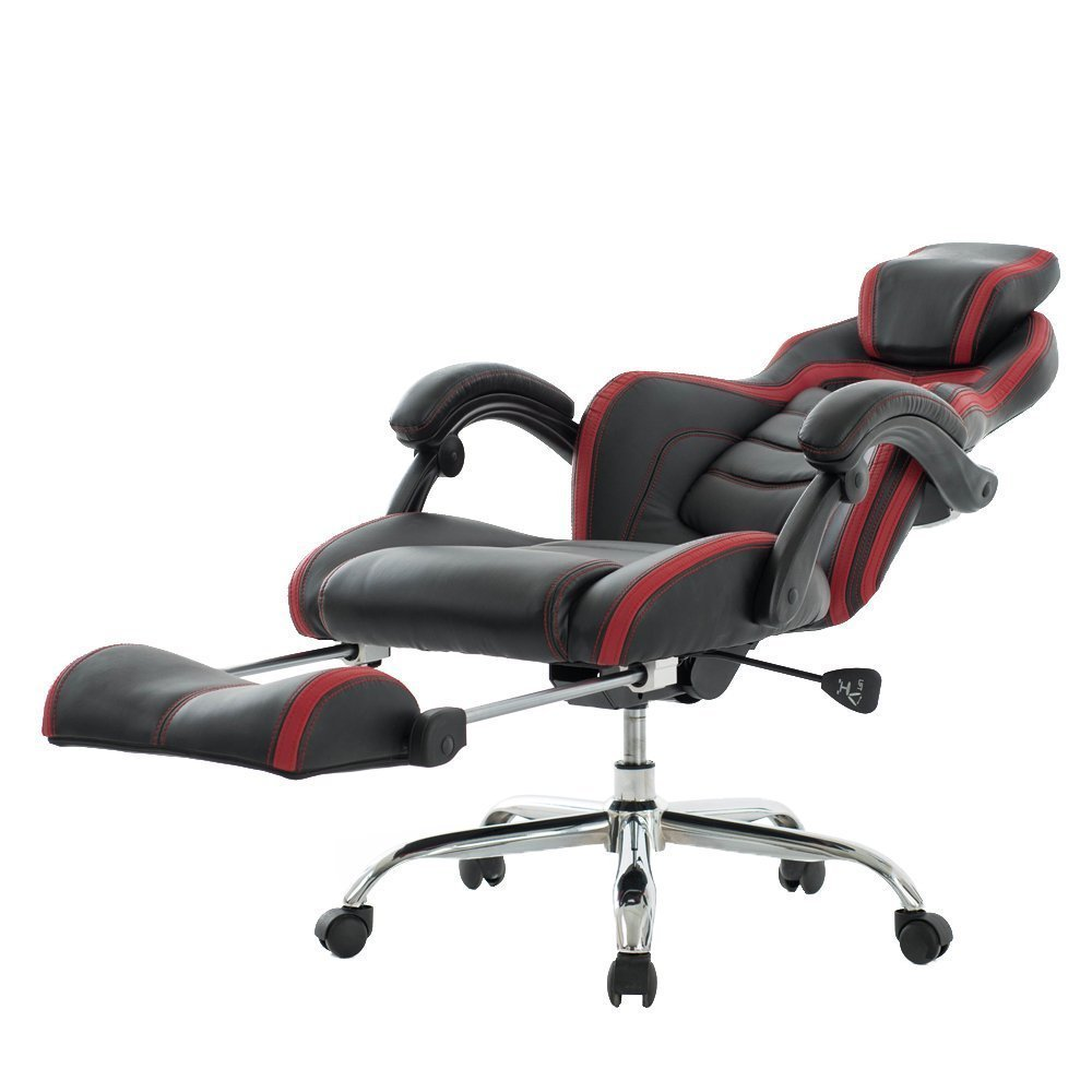 Viva Office High Back Bonded Leather Executive Racing Style