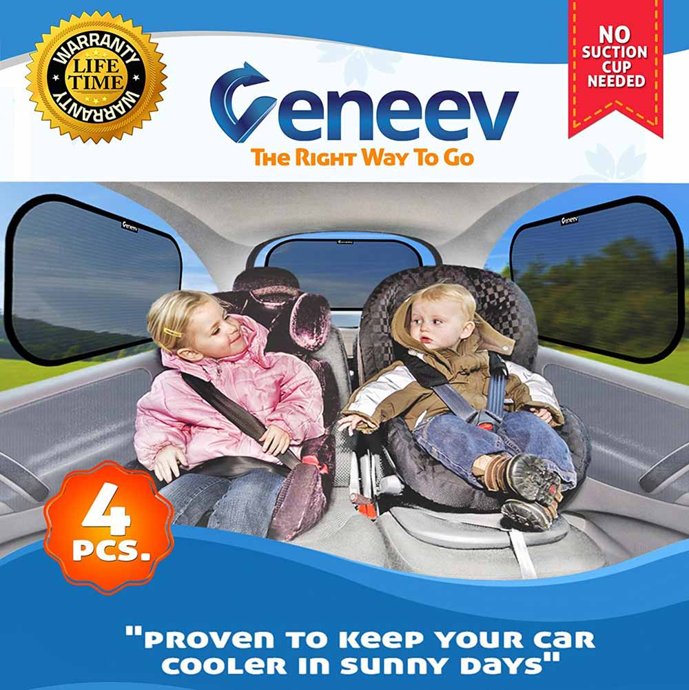 Car Sun Shade for Side and Rear Window