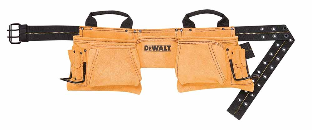 DEWALT DG5372 12-Pocket Carpenter's Suede Apron