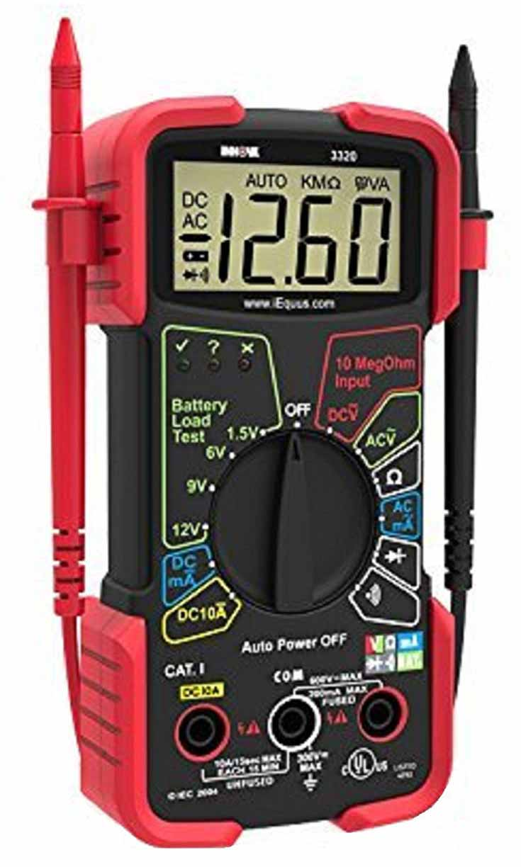 Innova 3320 Autoranging Digital Multimeter