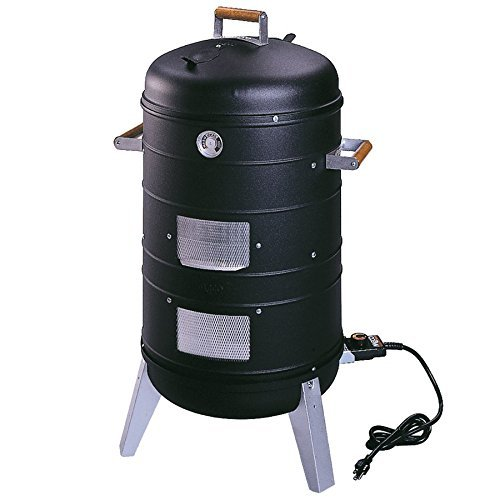Southern Country Smokers 2 in 1 Electric Water Smoker that converts into a Lock 'N Go Grill