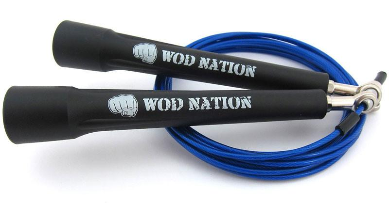 WOD Nation Double-Under Speed Jump Rope for Crossfit