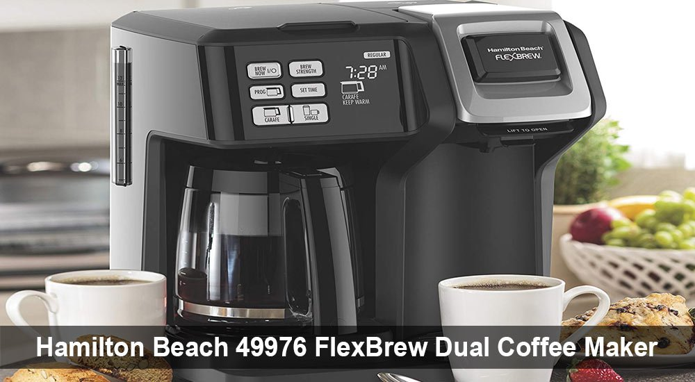 Hamilton Beach 49976 FlexBrew Dual Coffee Maker