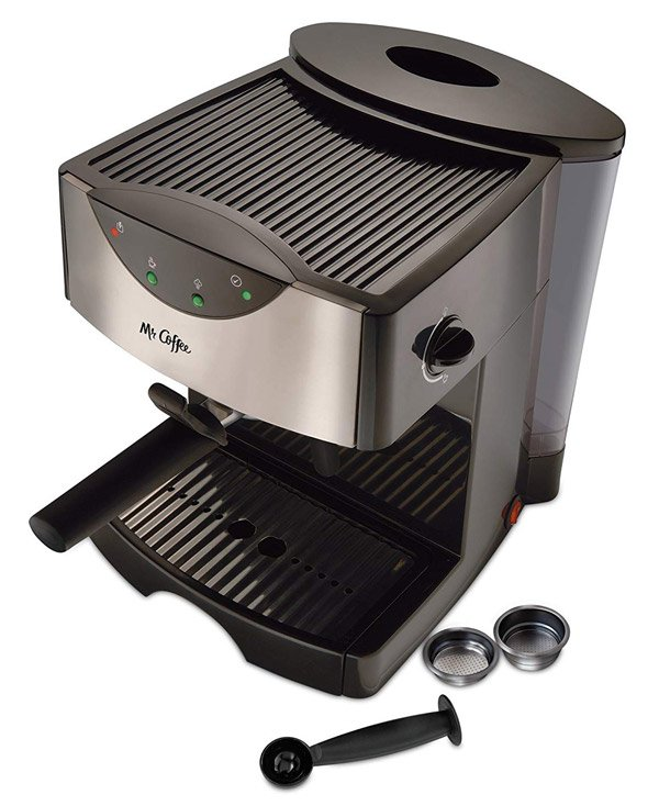 Mr. Coffee Automatic Dual Shot Espresso Machine Review 1
