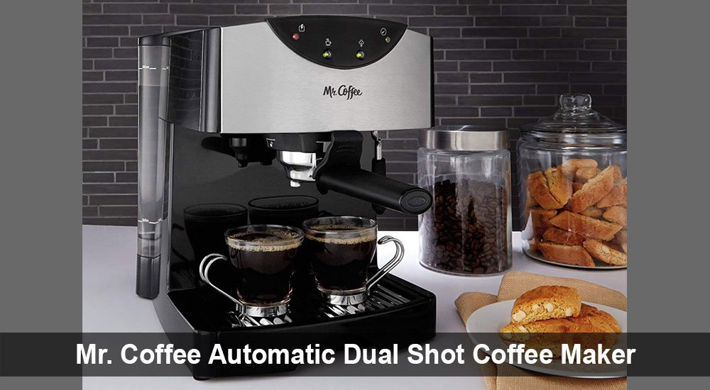 Mr. Coffee Automatic Dual Shot Coffee Maker