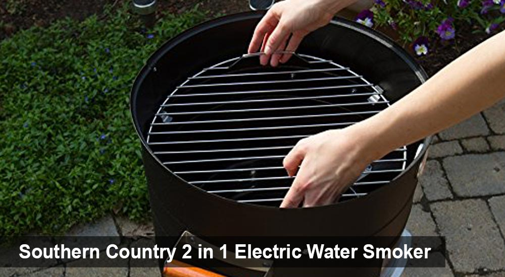 Southern Country 2 in 1 Electric Water Smoker