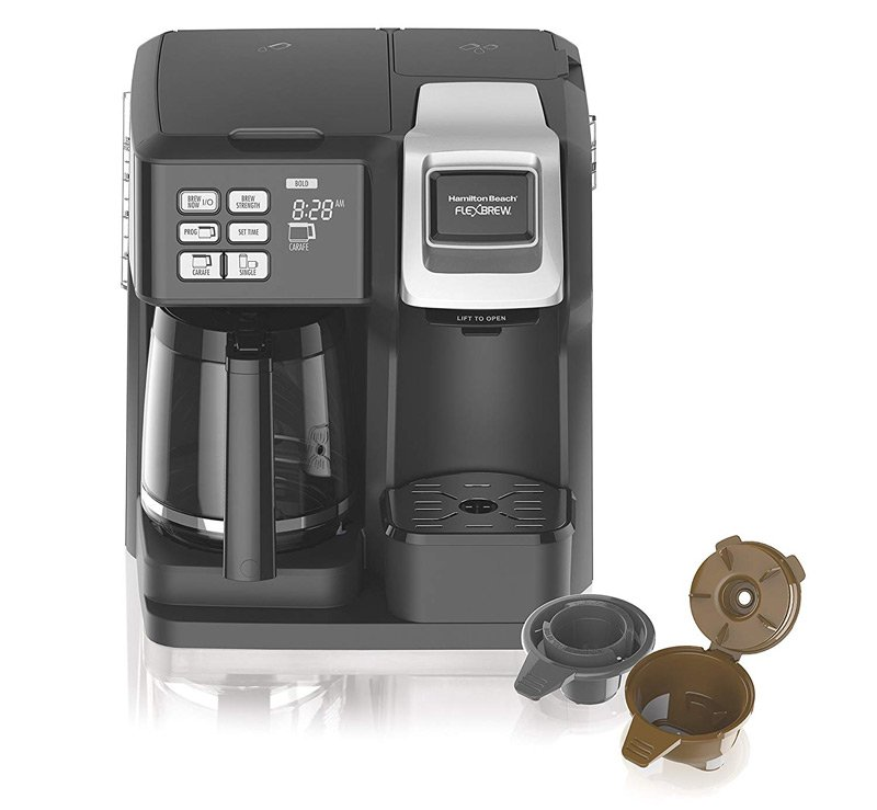The Hamilton Beach FlexBrew Duo Coffee Maker