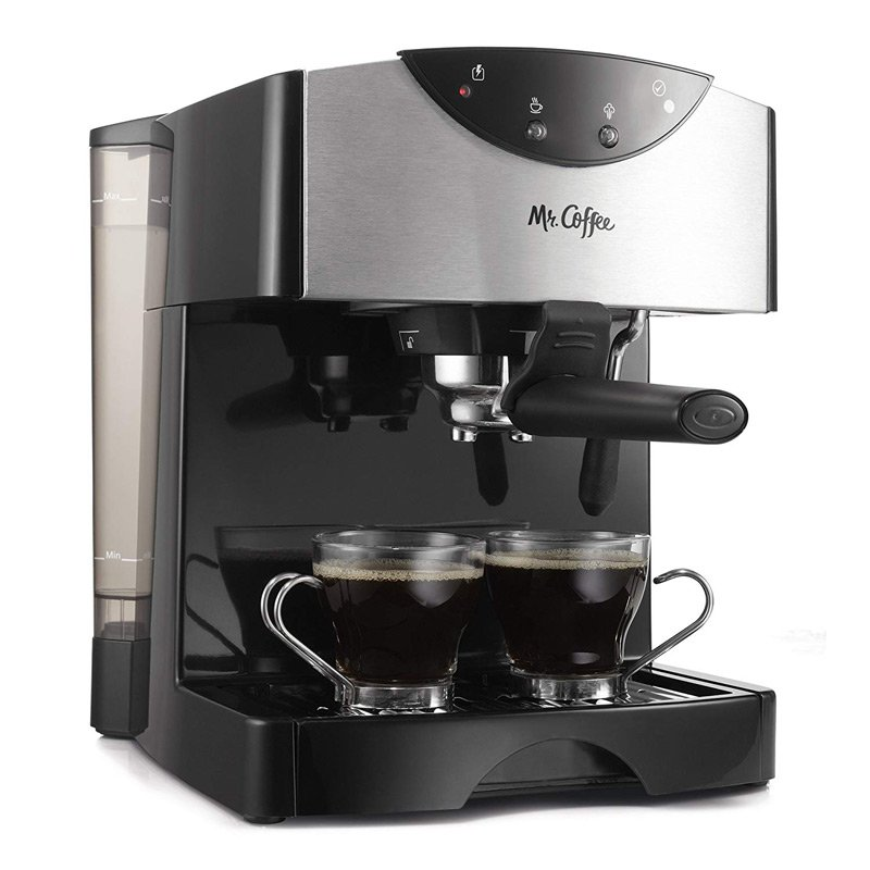 The Mr. Coffee Automatic Dual Shot coffee maker