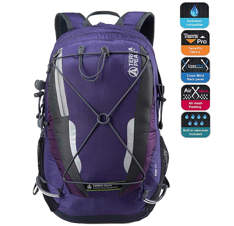 30L Terra Peak Adjustable Hiking Backpack