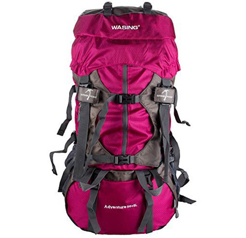 55L Wasing Internal Frame hiking backpack