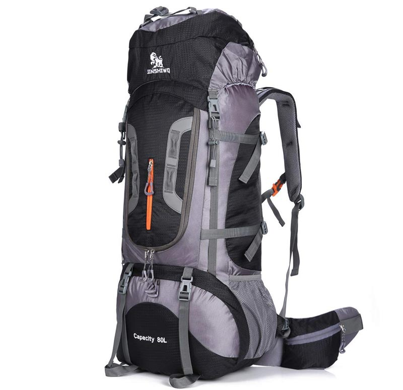 80L Jinshiwq Waterproof Hiking Backpack