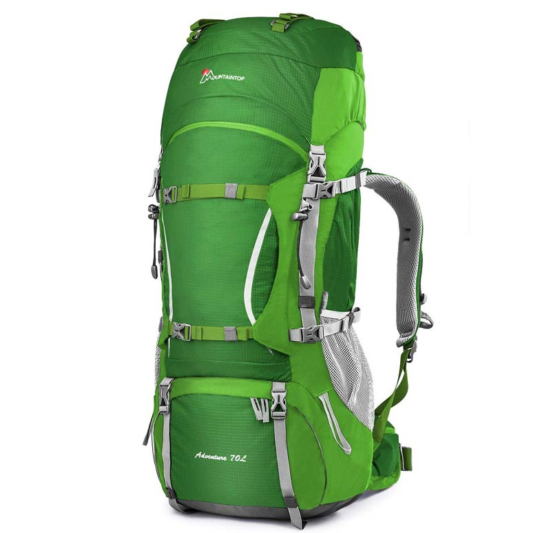 80L Mountaintop Internal Frame Hiking Backpack