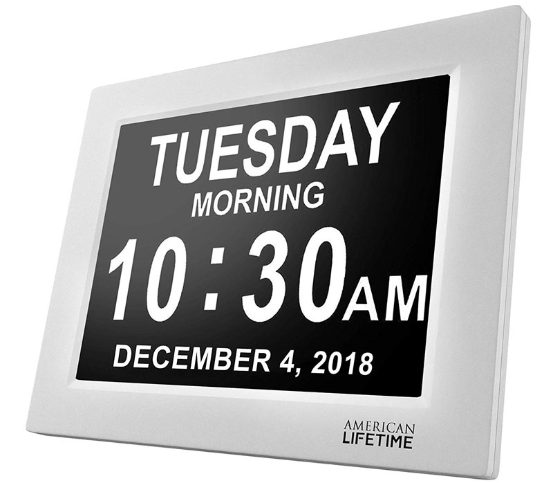 American Lifetime Day Clock