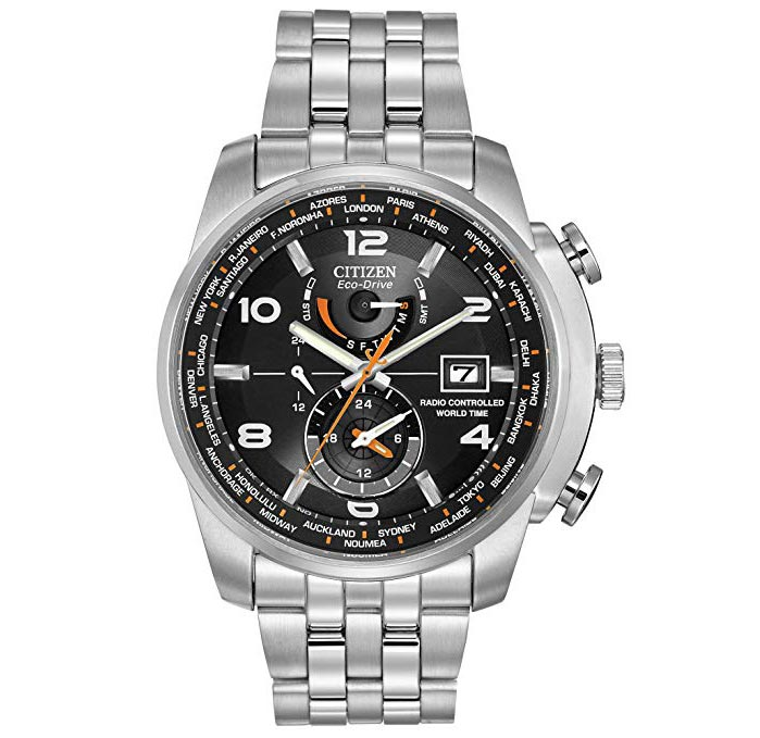 Citizen Men's Eco-Drive Silvertone