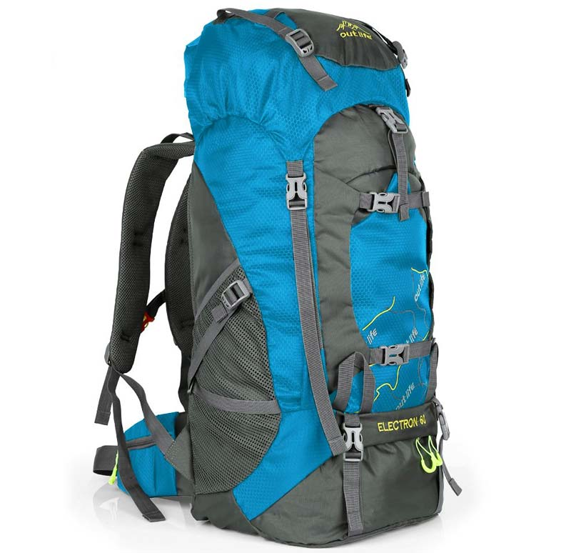 OUTLIFE Hiking Backpack 60 Liter bag