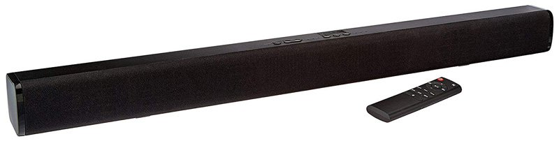 Amazon Basics 2.0 Channel Bluetooth Sound Bar