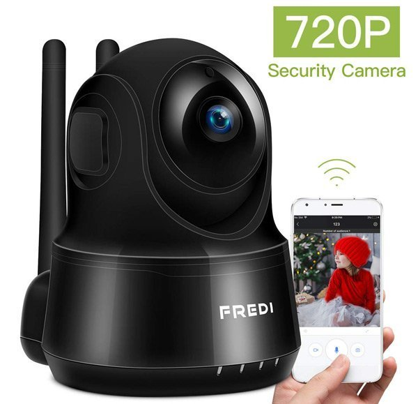 FREDI Full HD 720P/1080P Security Camera System