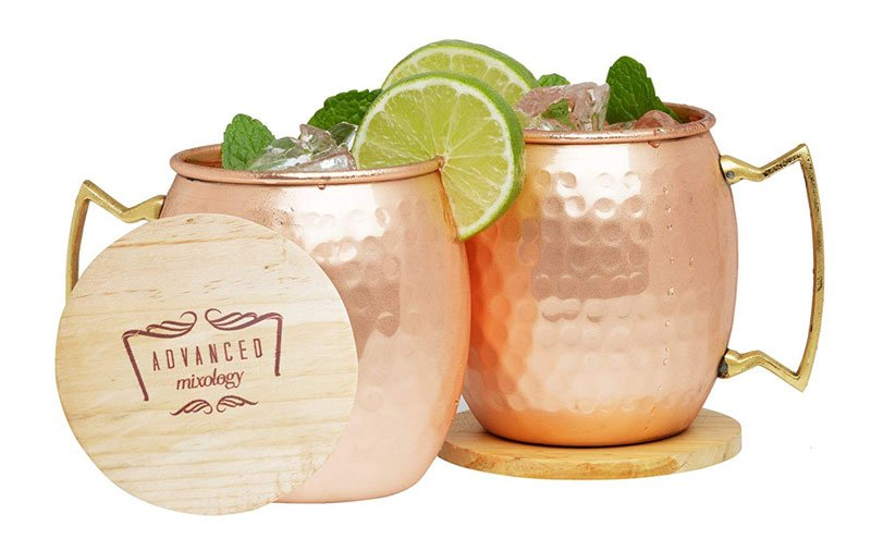 Advanced Mixology Moscow Mule Copper Mugs