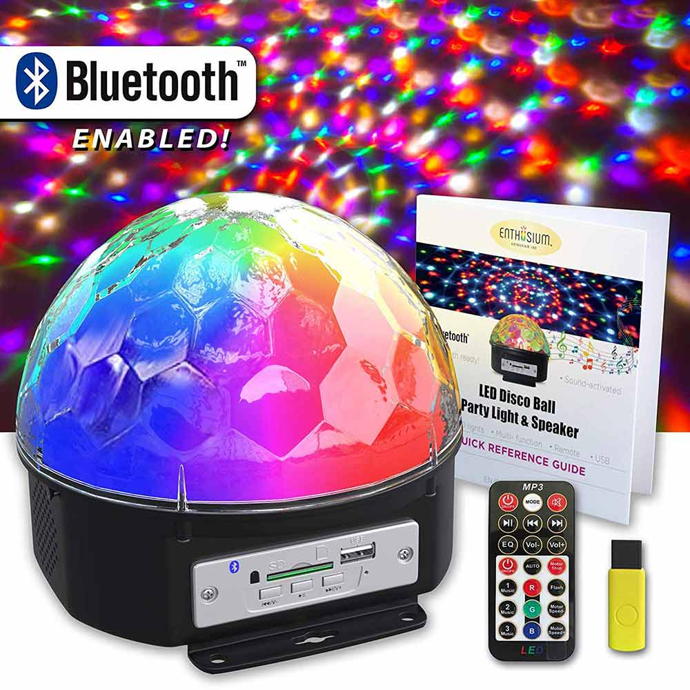 Enthusium Disco Party Bluetooth Speaker