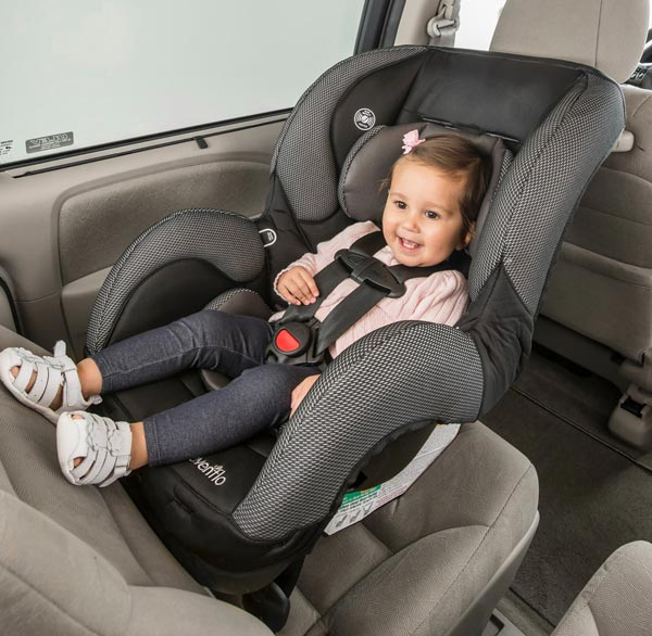 How To Fit the Evenflo SureRide DLX Convertible Car Seat To Your Child