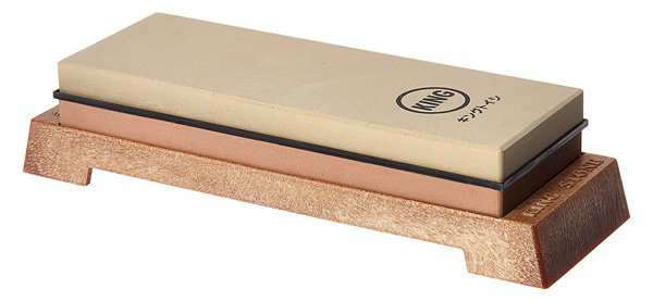 KING KW65 10006000 Grit Combination Whetstone with Plastic Base