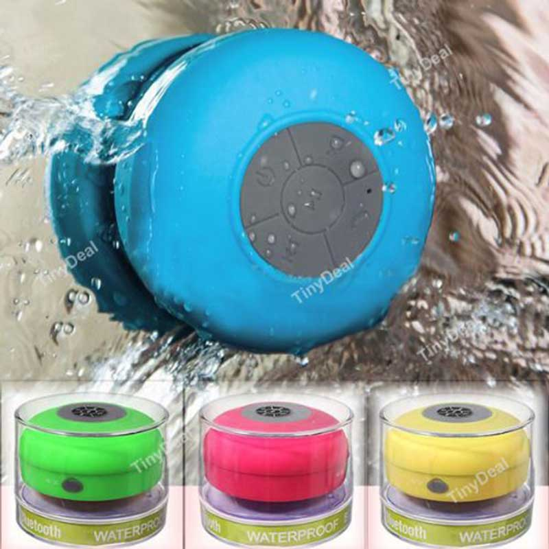 Mini Waterproof Wireless Bluetooth Speaker Shower