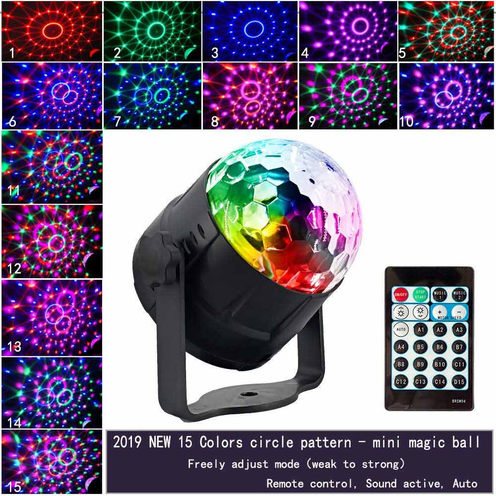 New Arrival 15-Color Disco Light
