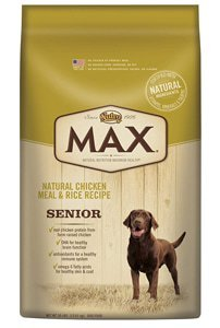 Nutro Max Natural Senior Dry Dog Food